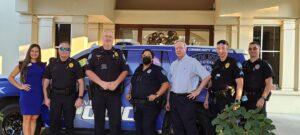 Converse Police Department at Heroes Breakfast